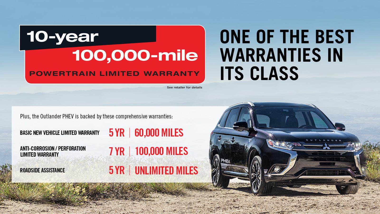 Mitsubishi bumper to bumper warranty